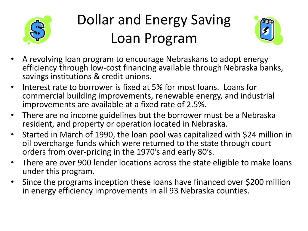 Dollar and Energy Saving