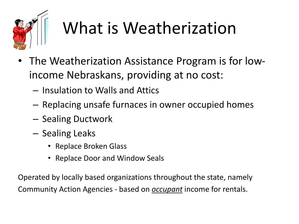 What is Weatherization