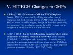 v hitech changes to cmps1