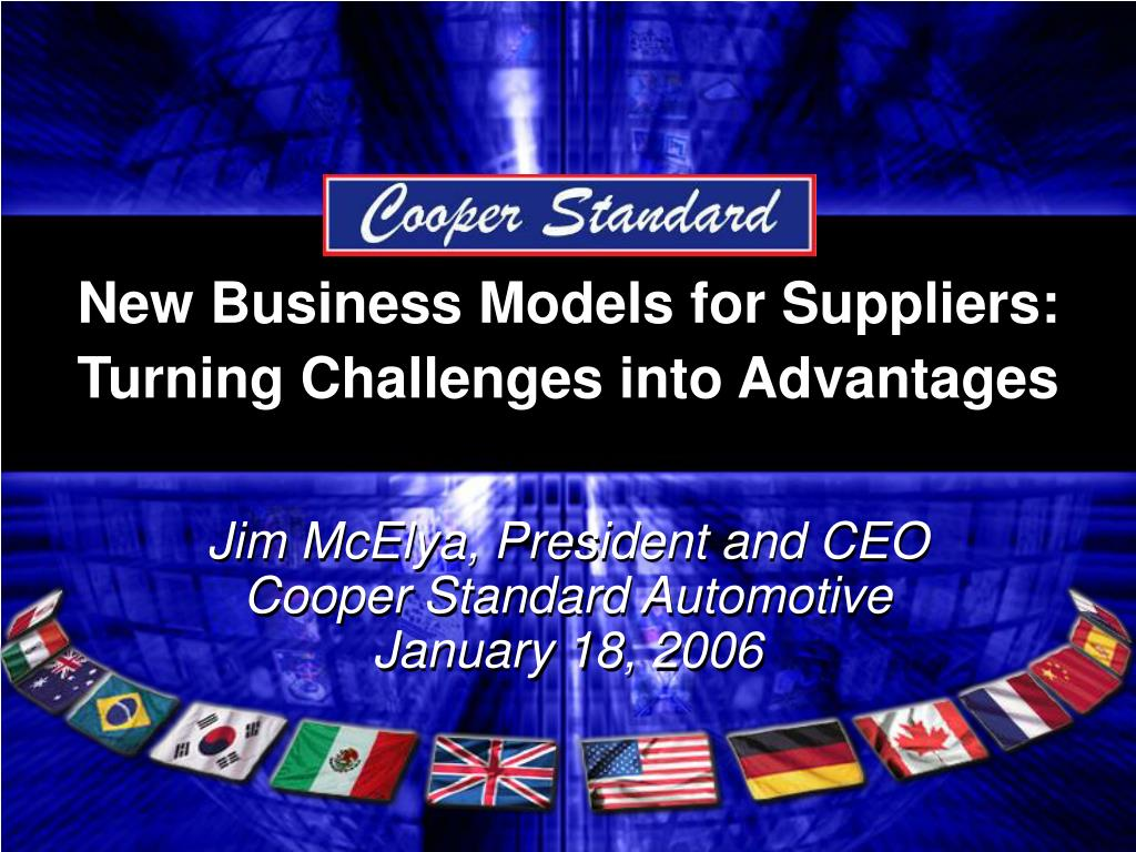 New Business Models for Suppliers: