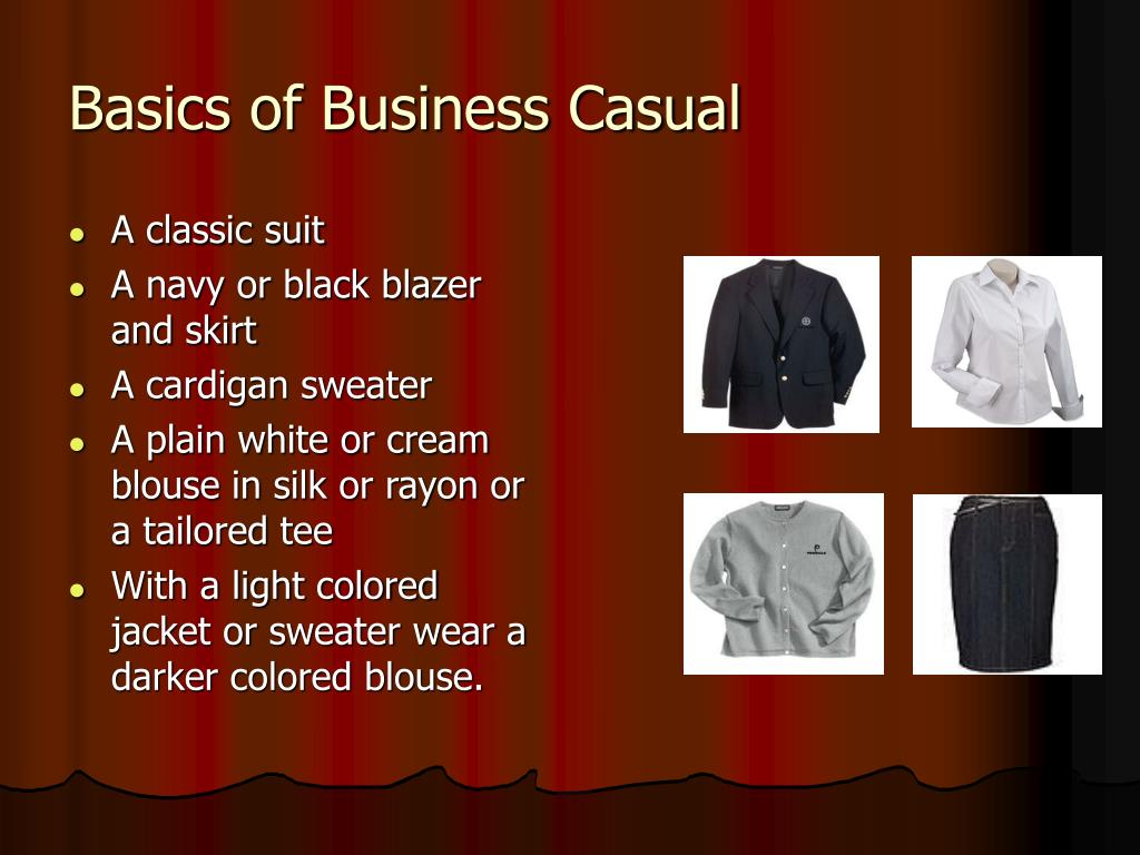 Basics of Business Casual