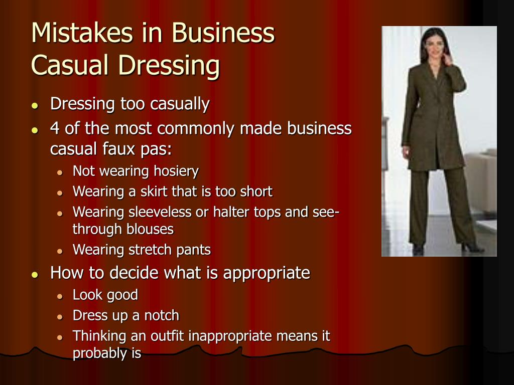 Mistakes in Business