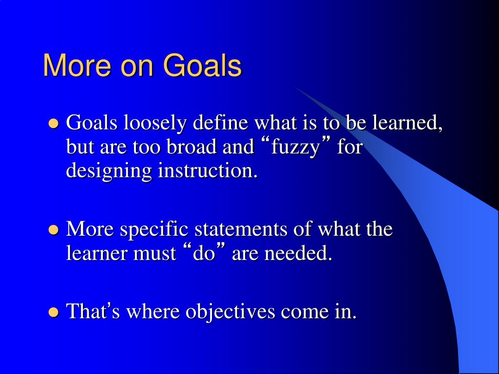 educational goals objectives essay Learn how to write a great essay paper on goals and objectives besides, you can download a free essay paper on goals and objectives and educational.