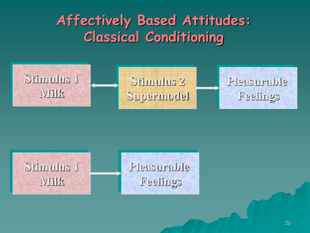 Affectively Based Attitudes: