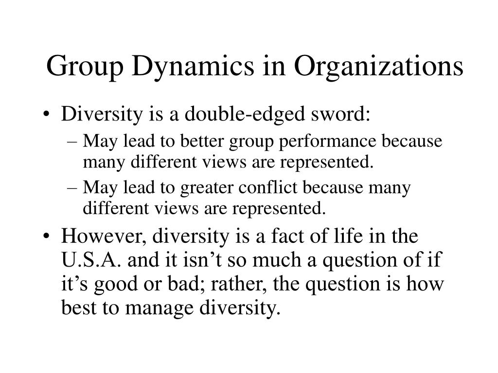 group dynamics in organizations This section describes how to set up your microsoft dynamics 365 organization you will learn about managing business units and sites,.