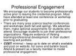 professional engagement