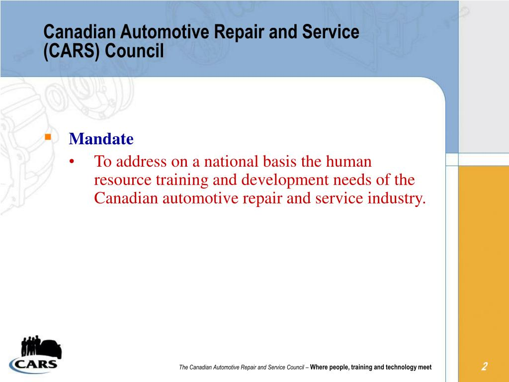 Canadian Automotive Repair and Service