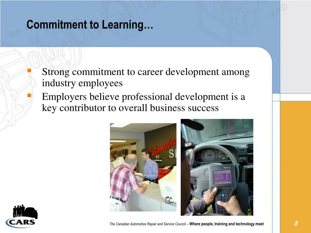Commitment to Learning…