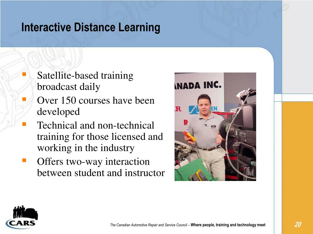 Interactive Distance Learning