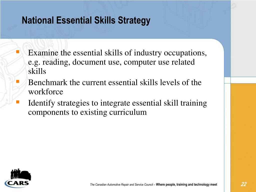 National Essential Skills Strategy