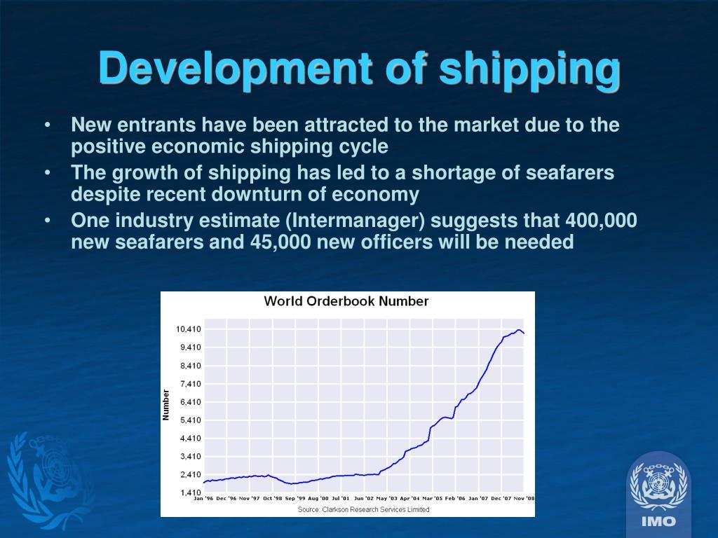 Development of shipping