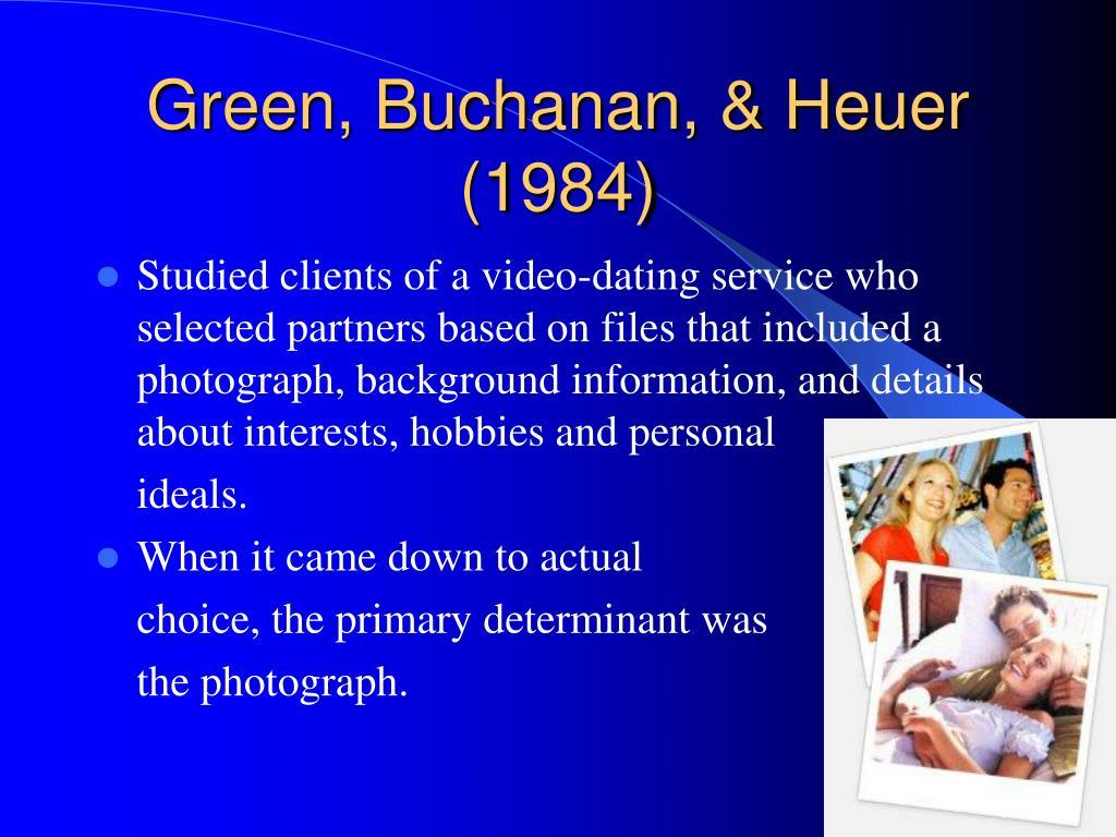 Green, Buchanan, & Heuer (1984)