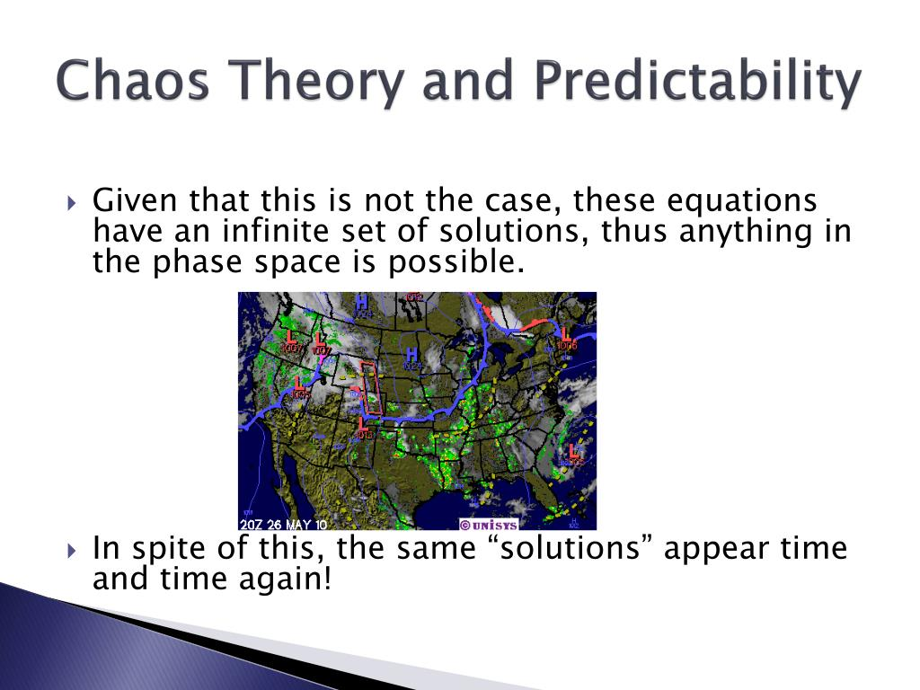 Chaos Theory and Predictability