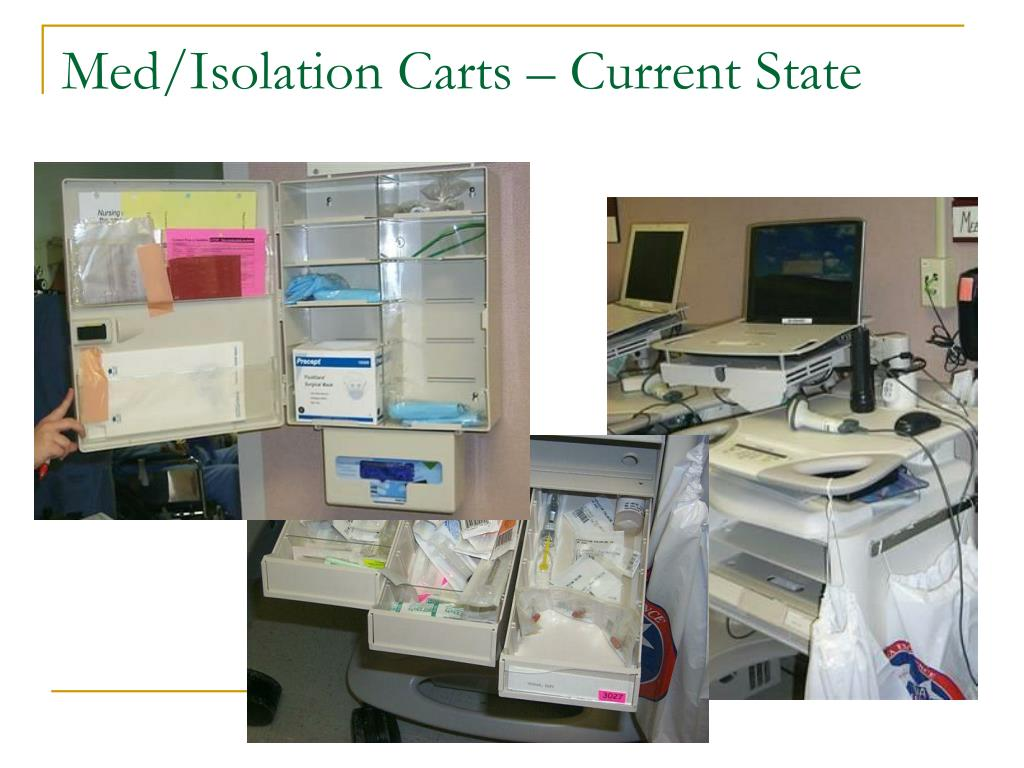 Med/Isolation Carts – Current State