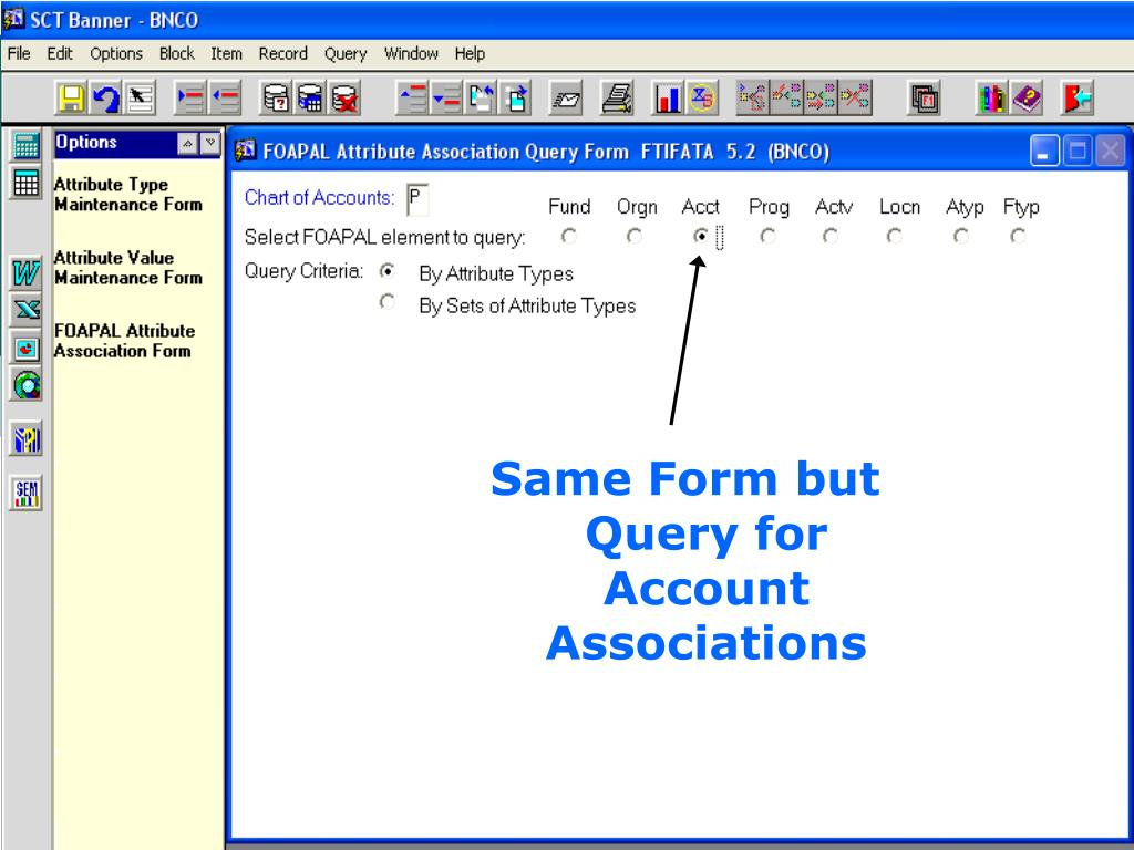 Same Form but Query for Account Associations