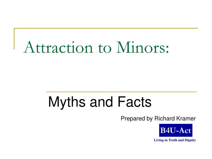attraction to minors