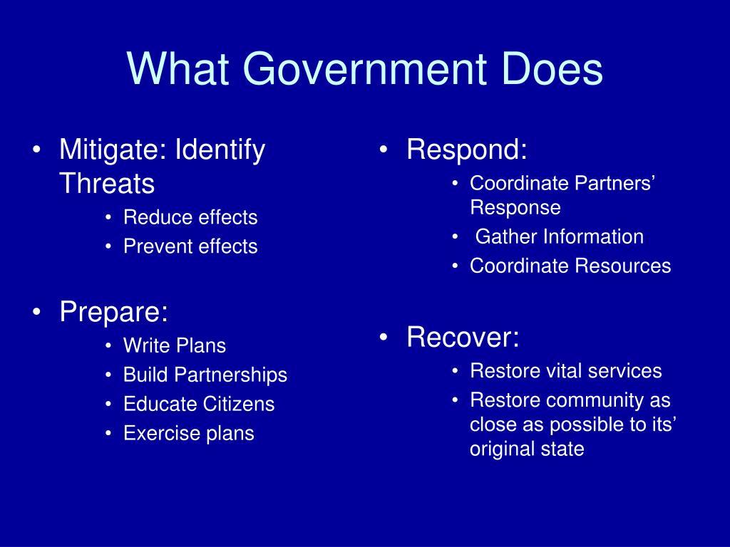 Mitigate: Identify Threats