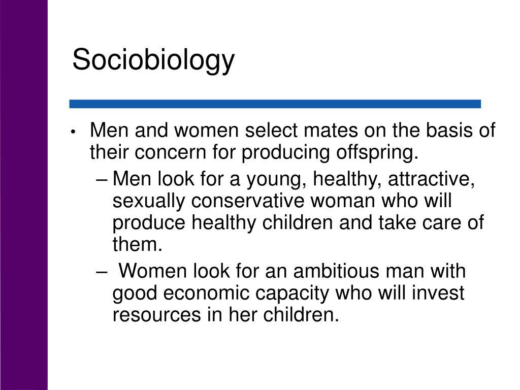 Sociobiology