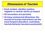 dimensions of tourism6