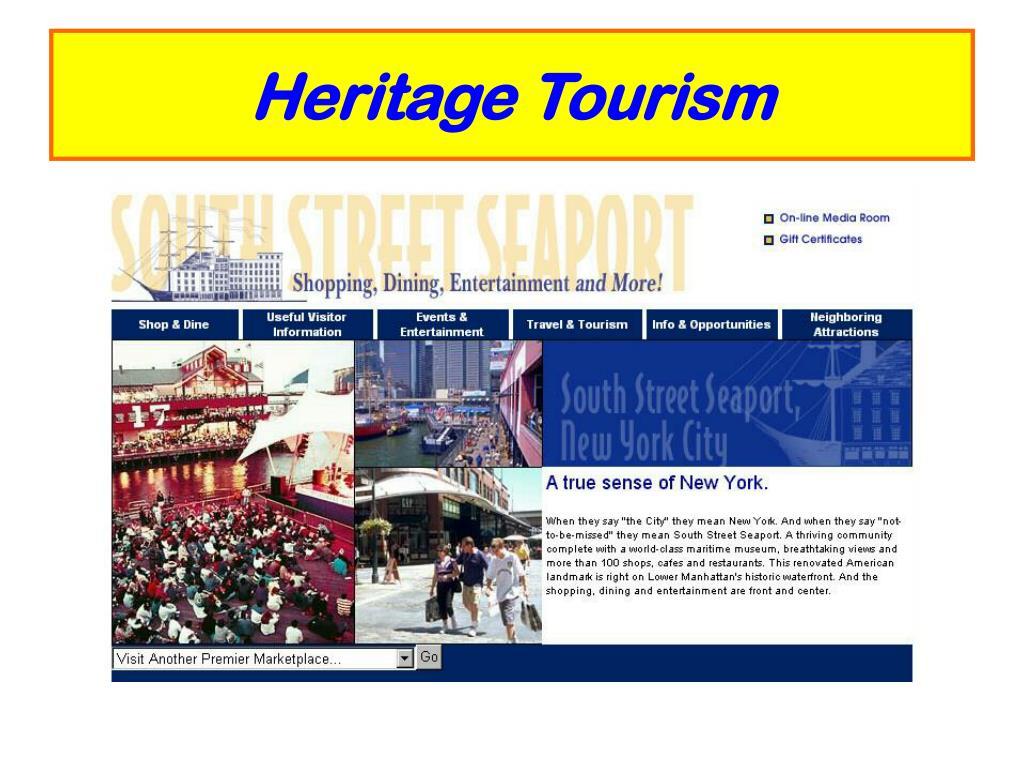 Heritage Tourism