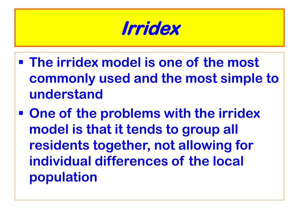 Irridex