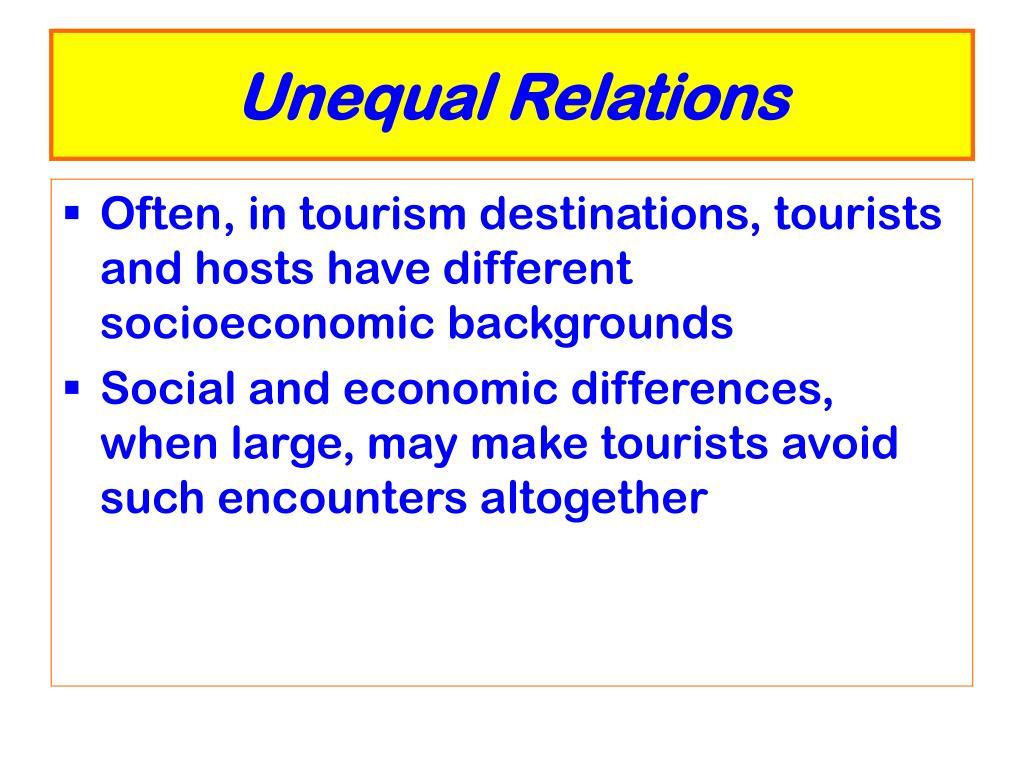 Unequal Relations