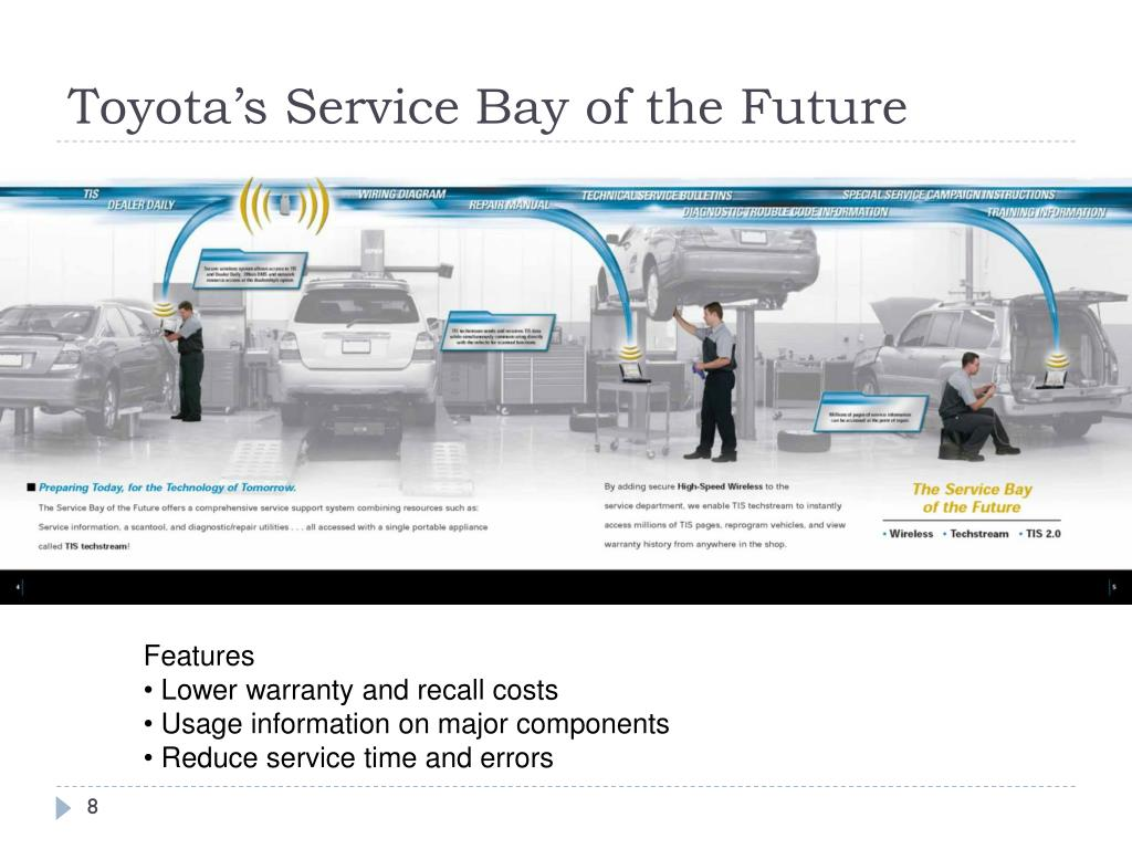 Toyota's Service Bay of the Future