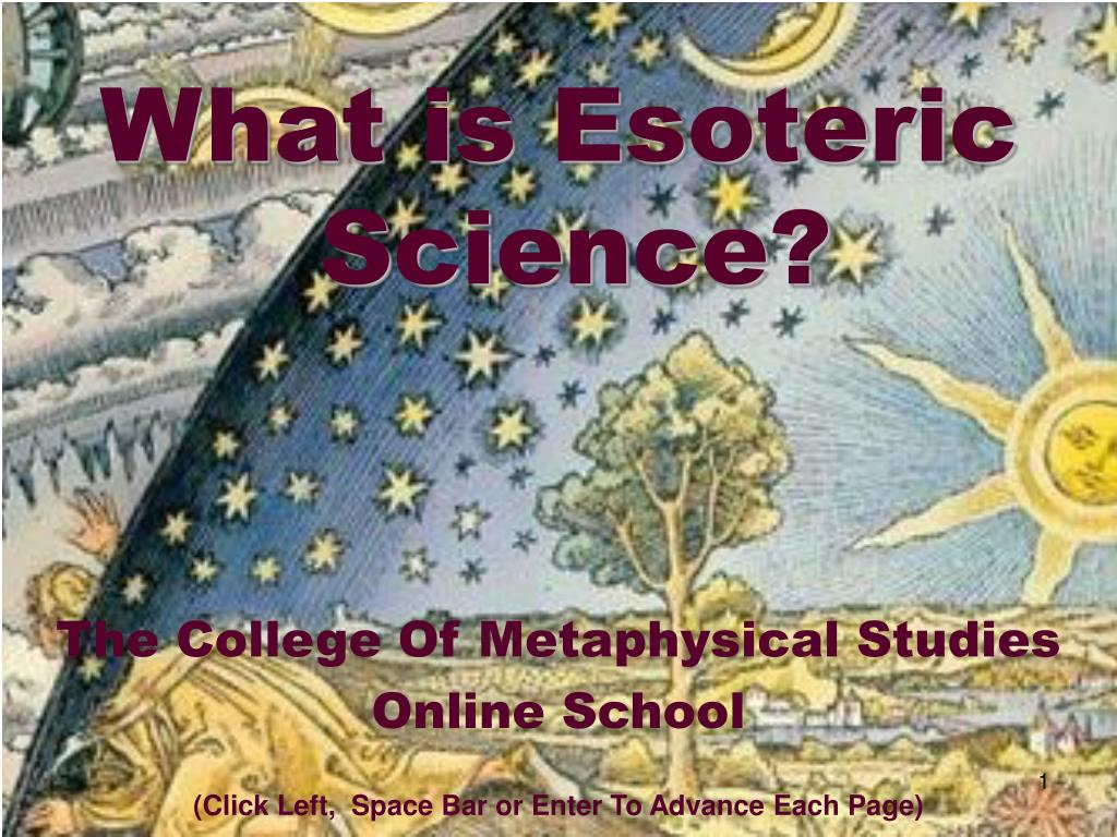 What is Esoteric