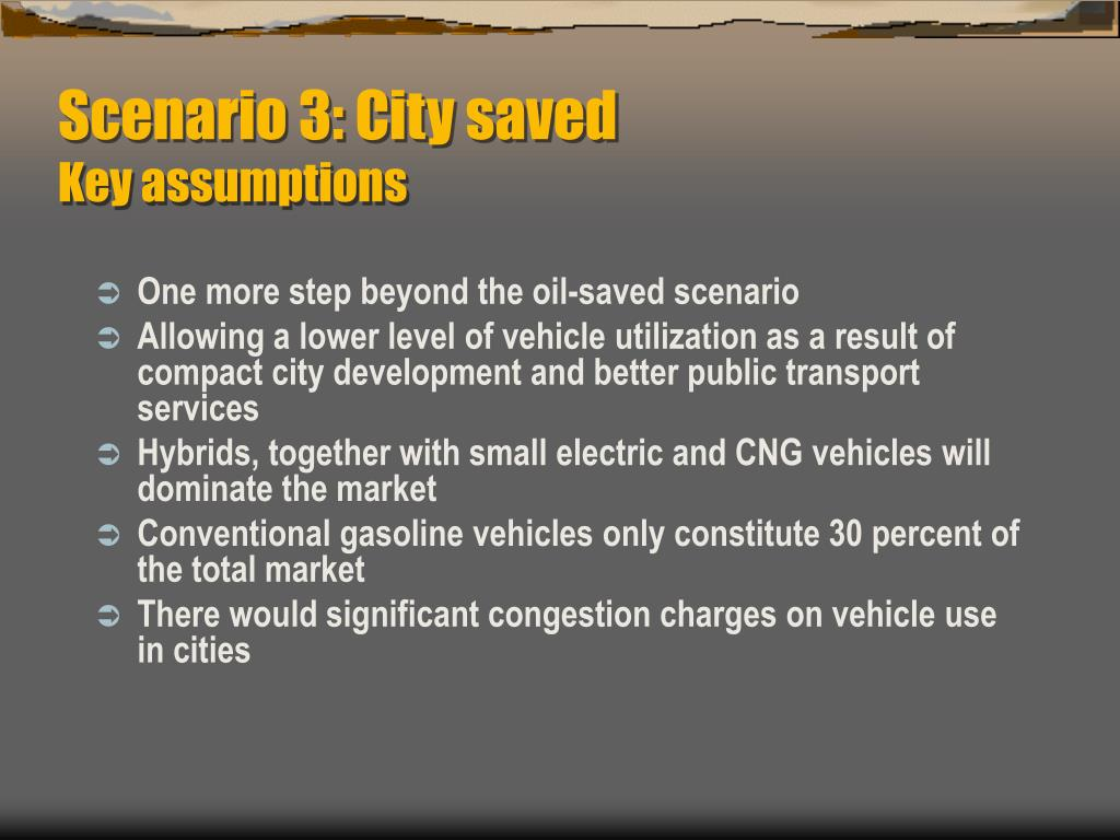 Scenario 3: City saved