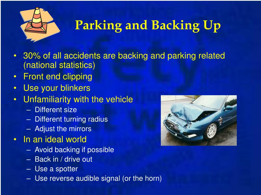 Parking and Backing Up