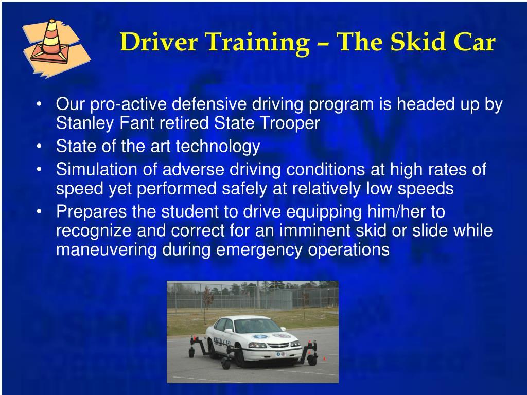 Driver Training – The Skid Car