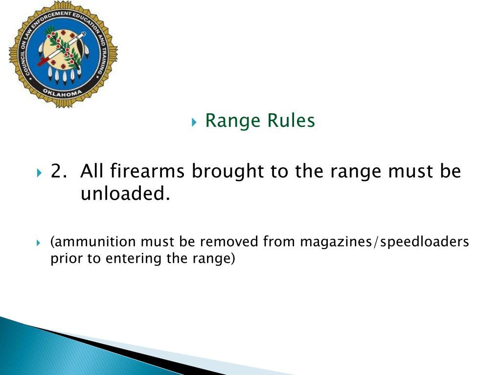 Range Rules