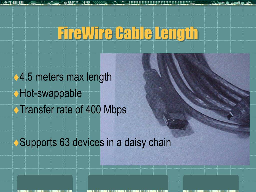 FireWire Cable Length