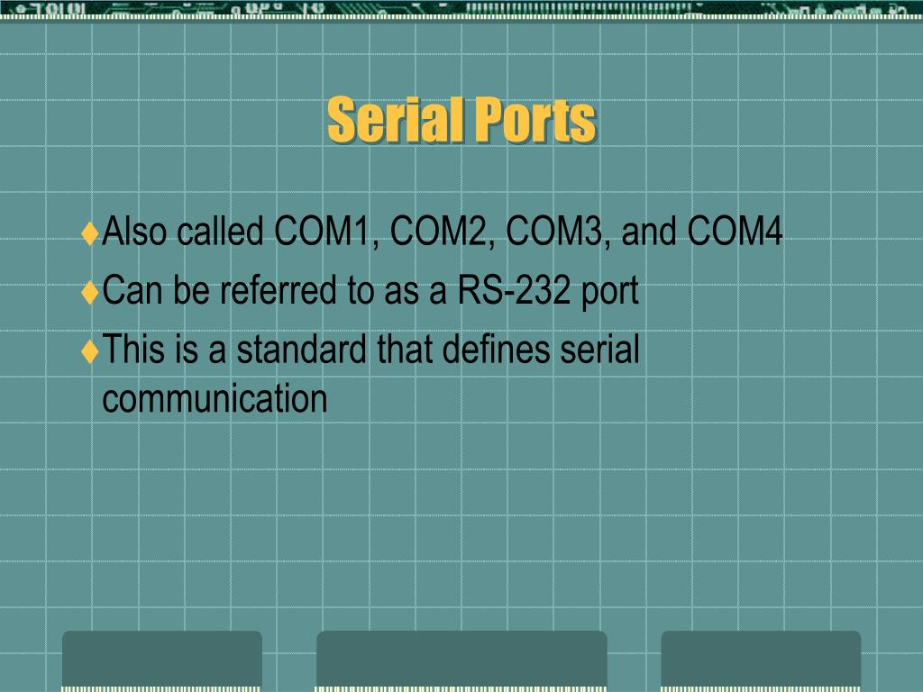 Serial Ports