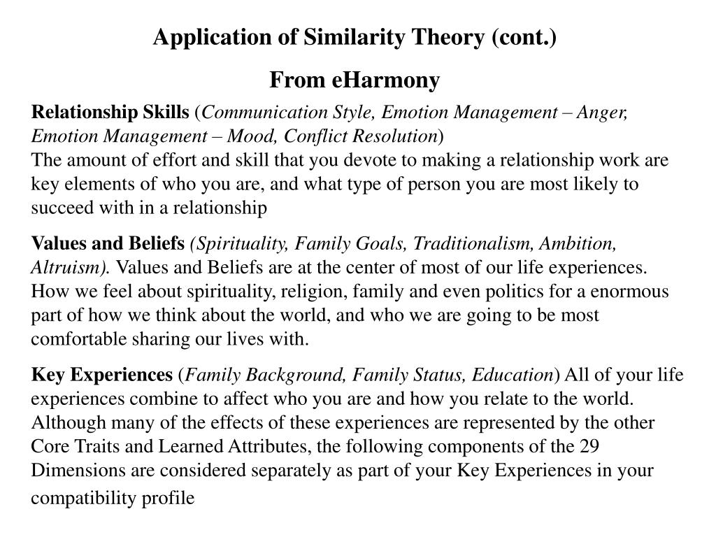 Application of Similarity Theory (cont.)