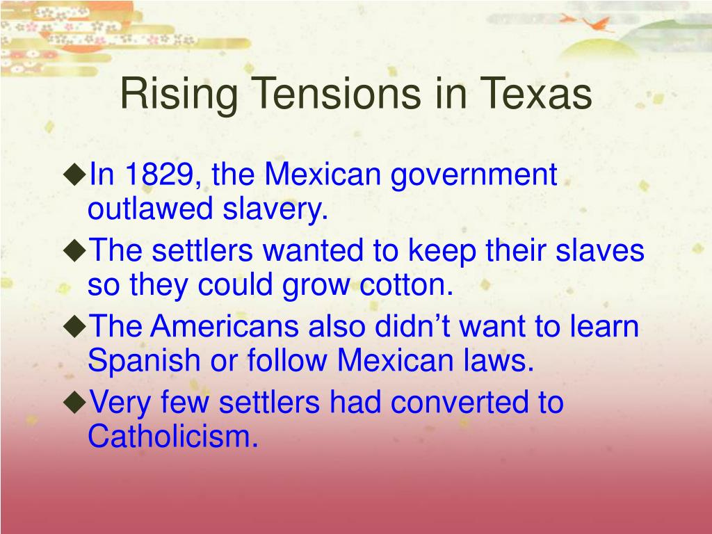 Rising Tensions in Texas