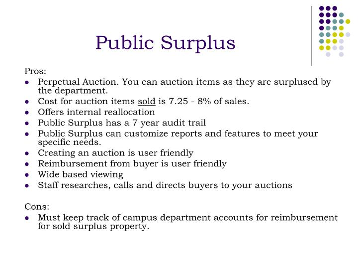 Public Surplus