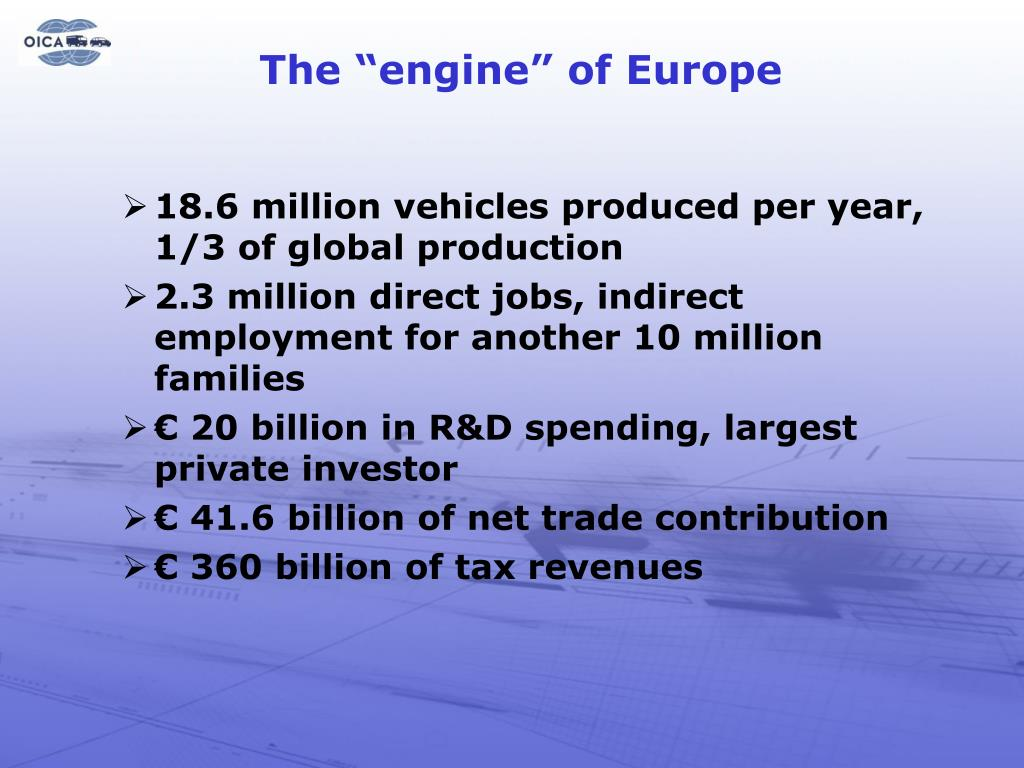 "The ""engine"" of Europe"