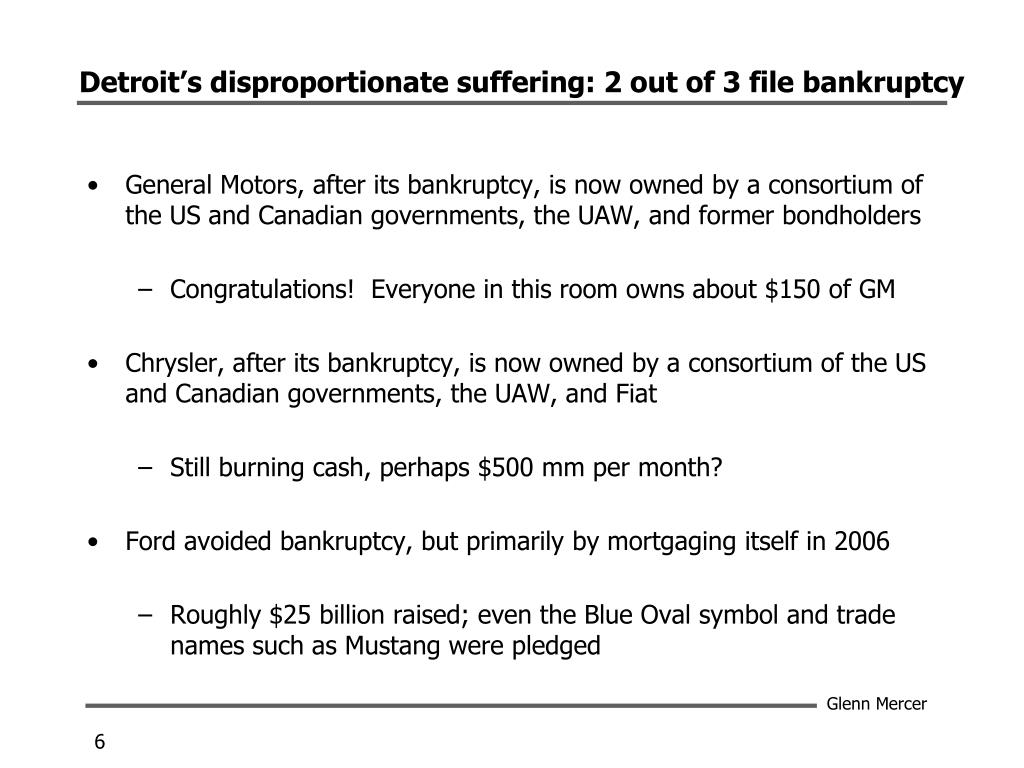 Detroit's disproportionate suffering: 2 out of 3 file bankruptcy