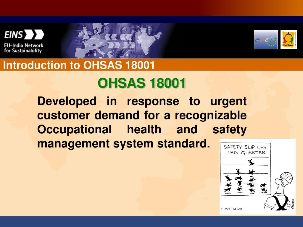 Introduction to OHSAS 18001