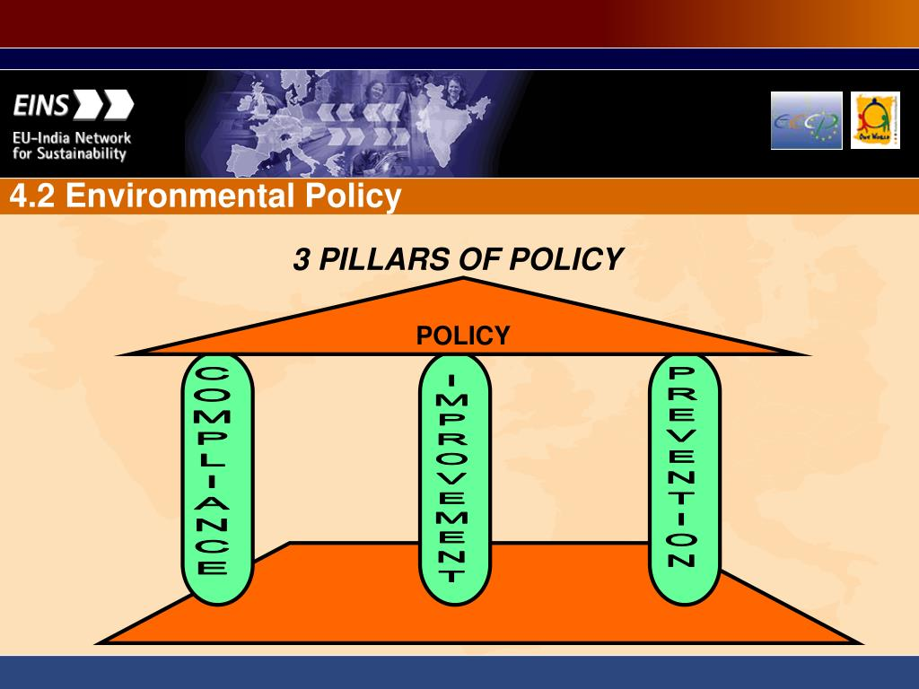 3 PILLARS OF POLICY
