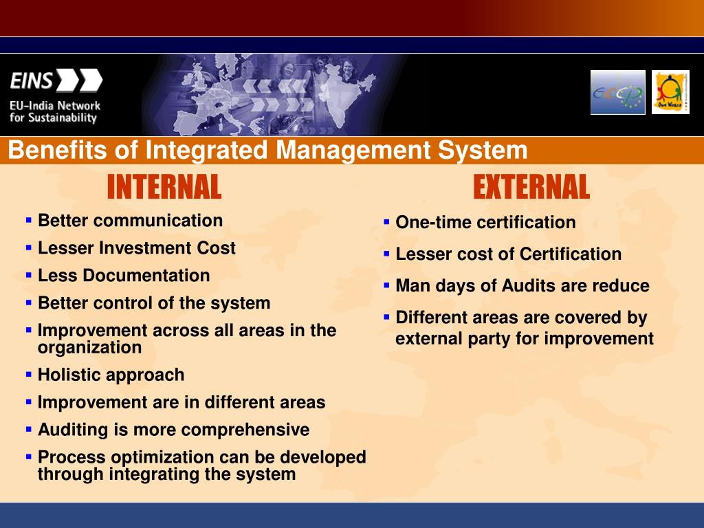 Benefits of Integrated Management System