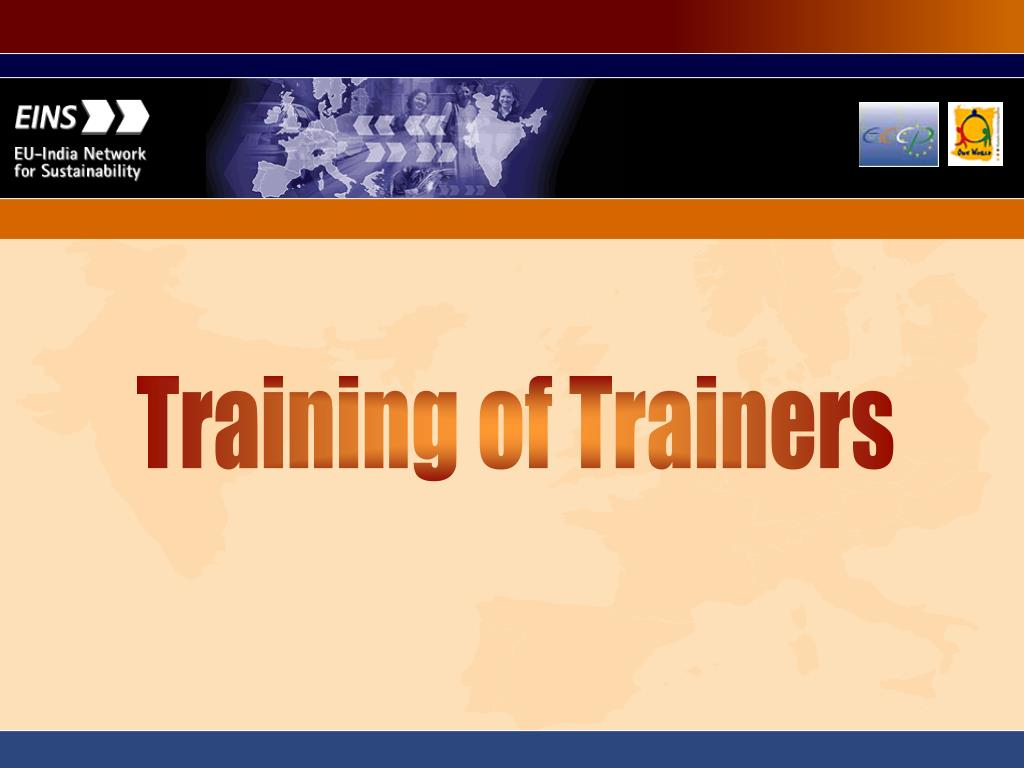 Training of Trainers