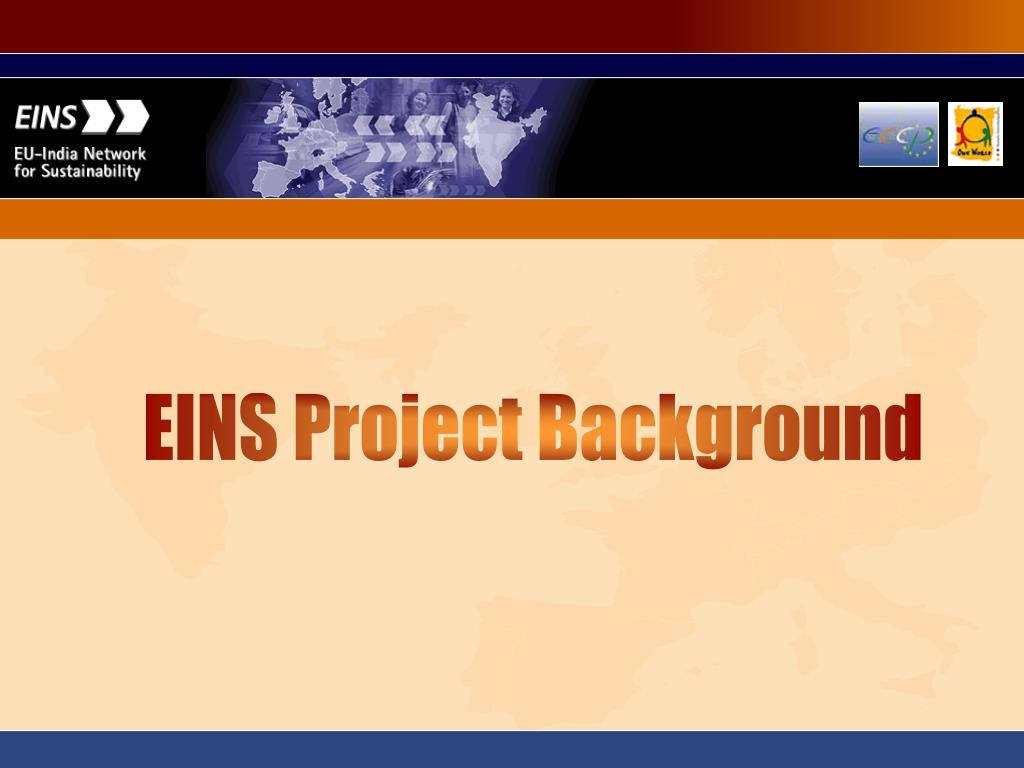 EINS Project Background