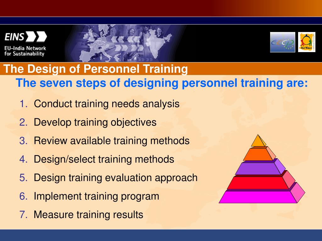 The Design of Personnel Training