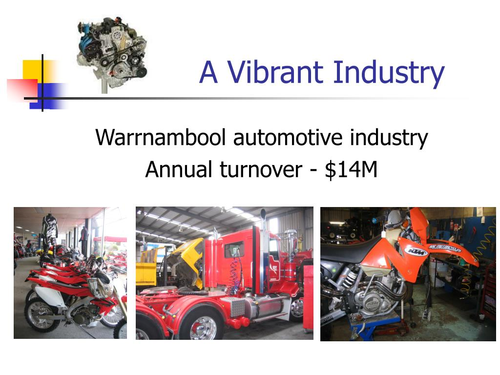 A Vibrant Industry