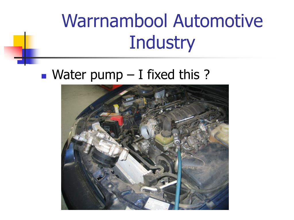 Warrnambool Automotive Industry