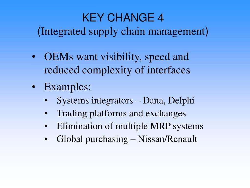 KEY CHANGE 4