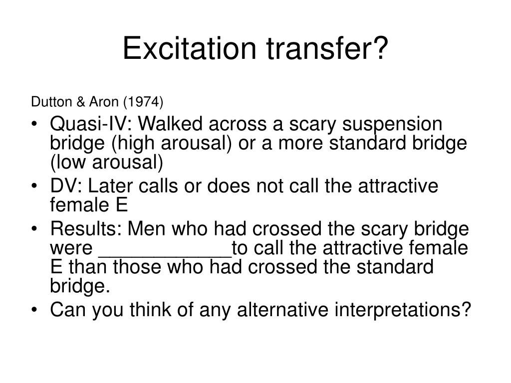 Excitation transfer?