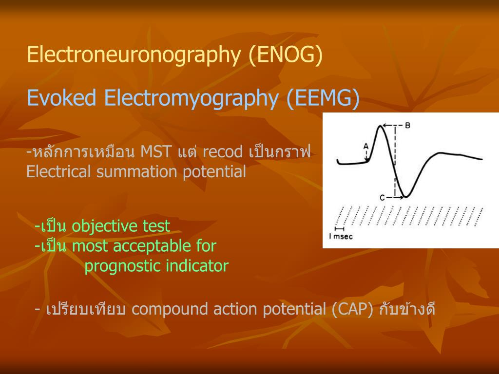 Electroneuronography
